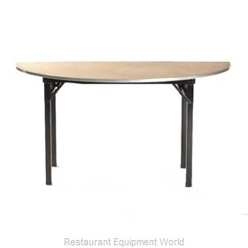 Maywood Furniture DPORIG96HR Folding Table, Round