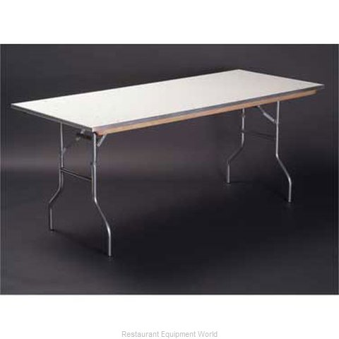 Maywood Furniture MF1860 Folding Table, Rectangle