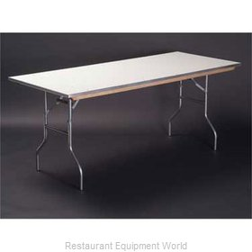 Maywood Furniture MF1896 Folding Table, Rectangle