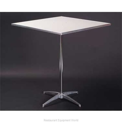 Maywood Furniture MF24SQPED42 Table, Indoor, Bar Height