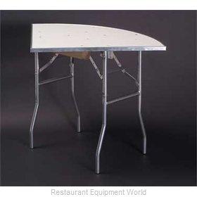 Maywood Furniture MF30QRFLD Folding Table, Round