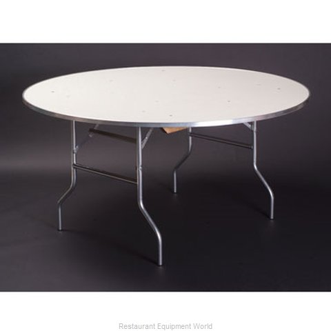 Maywood Furniture MF30RDFLD Folding Table Round (Magnified)