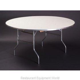 Maywood Furniture MF30RDFLD Folding Table, Round