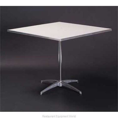 Maywood Furniture MF30SQPED30 Table, Indoor, Dining Height
