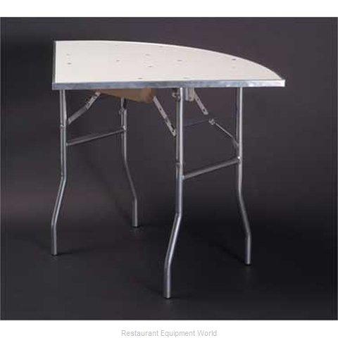 Maywood Furniture MF36QRFLD Folding Table, Round