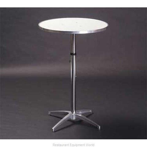 Maywood Furniture MF36RDPEDADJ Table, Indoor, Adjustable Height