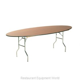 Maywood Furniture MF4296OVAL Folding Table, Oval