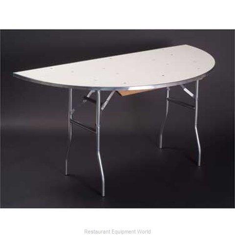 Maywood Furniture MF60HR Folding Table, Round