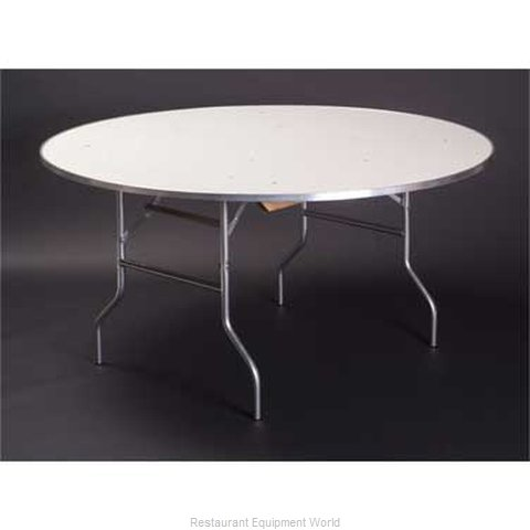 Maywood Furniture MF60RD Folding Table Round (Magnified)