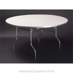 Maywood Furniture MF72RD Folding Table, Round