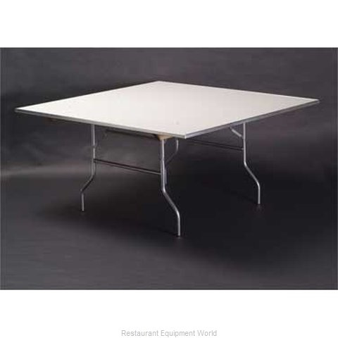 Maywood Furniture MF72SQFLD Folding Table, Square (Magnified)