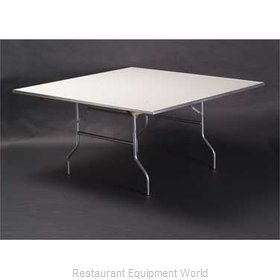 Maywood Furniture MF72SQFLD Folding Table, Square