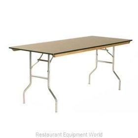 Maywood Furniture ML1860 Folding Table, Rectangle