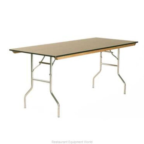 Maywood Furniture ML1896 Folding Table, Rectangle