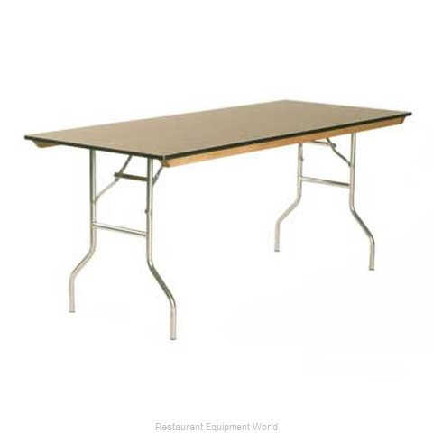 Maywood Furniture ML2448 Folding Table, Rectangle (Magnified)