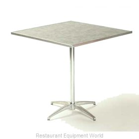 Maywood Furniture ML24SQPED30 Table, Indoor, Dining Height