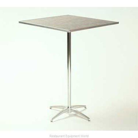 Maywood Furniture ML24SQPED3042 Table, Indoor, Adjustable Height