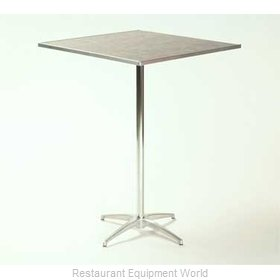 Maywood Furniture ML24SQPED3042 Table, Indoor, Adjustable Height