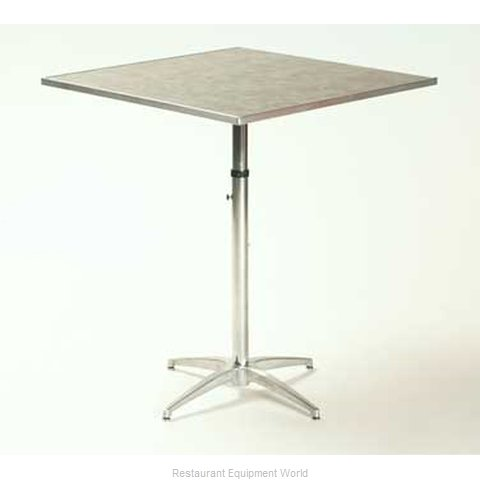 Maywood Furniture ML24SQPEDADJ Table, Indoor, Adjustable Height