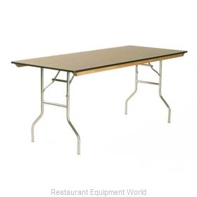 Maywood Furniture ML3060 Folding Table, Rectangle