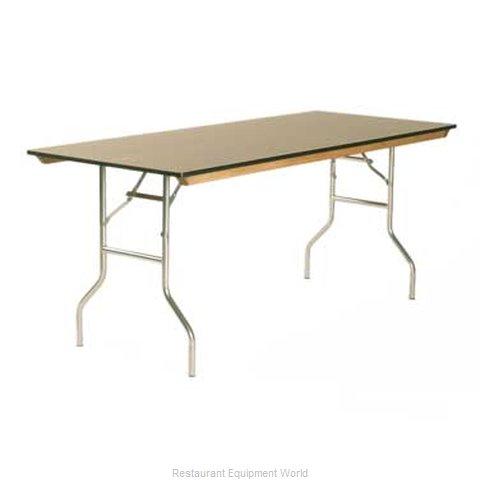Maywood Furniture ML3072 Folding Table, Rectangle