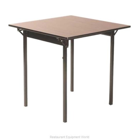 Maywood Furniture ML30CD Folding Table, Square (Magnified)