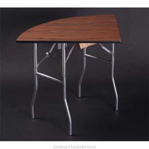 Maywood Furniture ML30QRFLD Folding Table, Round (Magnified)