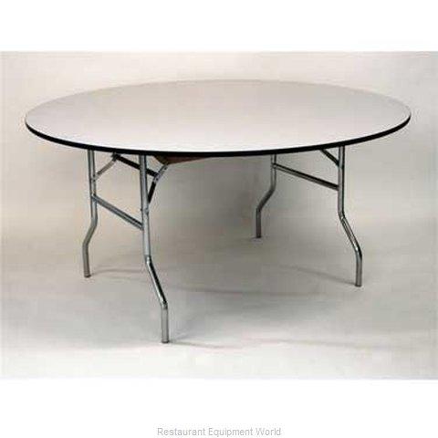 Maywood Furniture ML30RDFLD Folding Table, Round