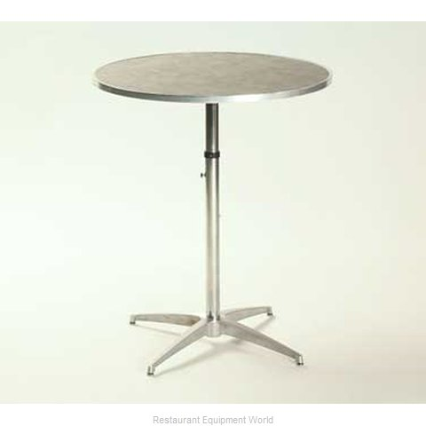 Maywood Furniture ML30RDPEDADJ Table Adjustable Height Indoor