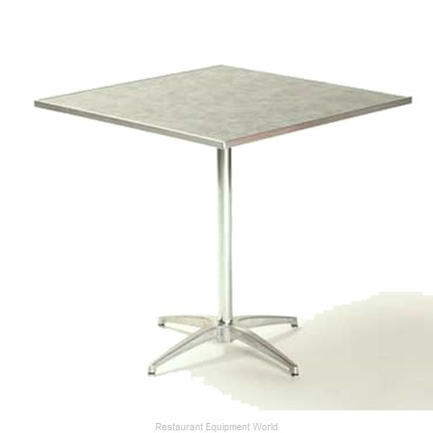 Maywood Furniture ML30SQPED30 Table, Indoor, Dining Height