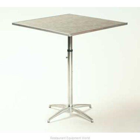 Maywood Furniture ML30SQPEDADJ Table, Indoor, Adjustable Height