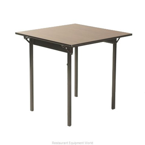 Maywood Furniture ML36CD Folding Table, Square (Magnified)