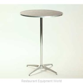 Maywood Furniture ML36RDPED3042 Table, Indoor, Adjustable Height