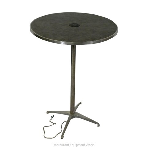 Maywood Furniture ML36RDPED42CHG Table, Indoor, Activity