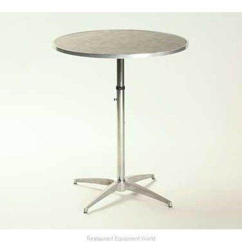 Maywood Furniture ML36RDPEDADJ Table, Indoor, Adjustable Height