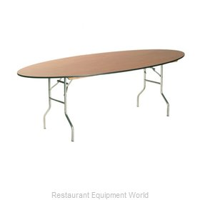 Maywood Furniture ML4296OVAL Folding Table, Oval