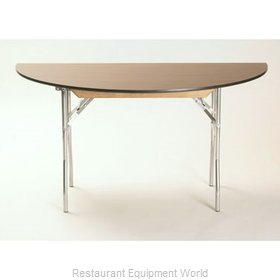 Maywood Furniture ML42HR Folding Table, Round