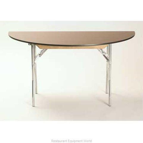 Maywood Furniture ML48HR Folding Table, Round
