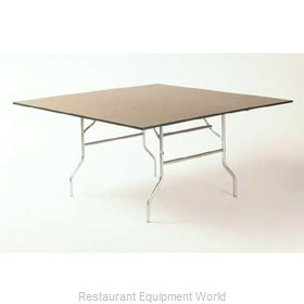 Maywood Furniture ML48SQFLD Folding Table, Square