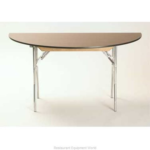Maywood Furniture ML60HR Folding Table, Round