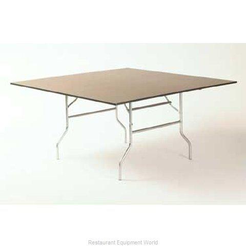 Maywood Furniture ML60SQFLD Folding Table, Square