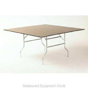 Maywood Furniture ML66SQFLD Folding Table, Square
