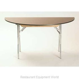 Maywood Furniture ML72HR Folding Table, Round