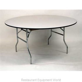 Maywood Furniture ML72RD Folding Table, Round