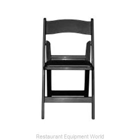 Maywood Furniture MMAXBLK Chair, Folding, Outdoor