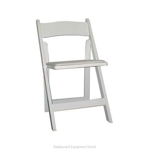 Maywood Furniture MMAXWH Chair Side Stacking Outdoor