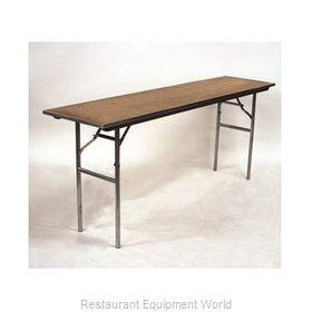 Maywood Furniture MP1860 Folding Table, Rectangle