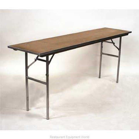 Maywood Furniture MP1872 Folding Table, Rectangle