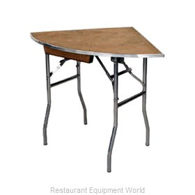 Maywood Furniture MP30QRFLD Folding Table, Round