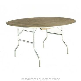 Maywood Furniture MP30RDFLD Folding Table, Round